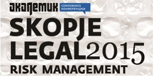 Skopje Legal Risk Management 2015