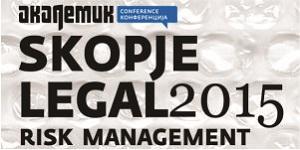 Skopje Legal Risk Management 2015